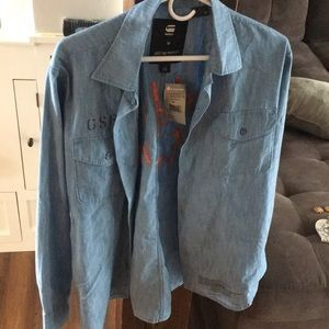 G Star Raw Jean Shirt